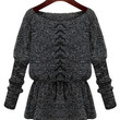 Lace Up Lightweight Knit Sweater