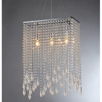 Warehouse of Tiffany Purcell 3 Light Crystal Chandelier