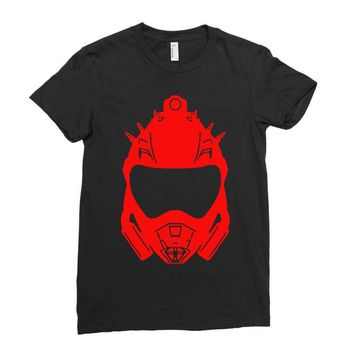 venator mark ii graphic Ladies Fitted T-Shirt