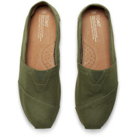 DEEP GREEN CANVAS MEN'S CLASSICS