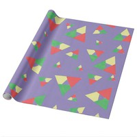 Triangle 2 wrapping paper