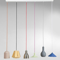 Colour Pop Six String Dining Pendant Lamp
