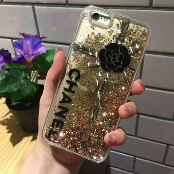 CHANEL Fashion iPhone Phone Cover Case For iphone 6 6s 6plus 6s-plus 7 7plus hard shell G-AGG-CZDL-1