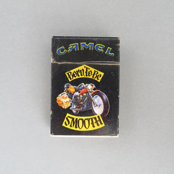 Vintage Joe Camel Lighter | Born to Be Smooth 1990s Collectible Lighter