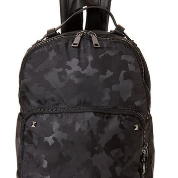 Dani Camo Backpack in Black
