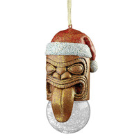 "Park Avenue Collection ""Lono Tiki"" South Seas Holiday Ornament"