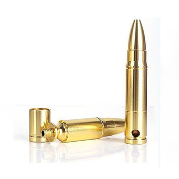 Mini Tobacco Pipes Metal Smoke Bullet Portable - Smoke Pipes