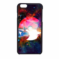 Pokemon Balls Galaxy iPhone 6 Case