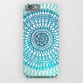 Radiate in Teal + Emerald iPhone & iPod Case by Tangerine-Tane