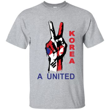 A United Korea T-Shirt North & South Korea Peace