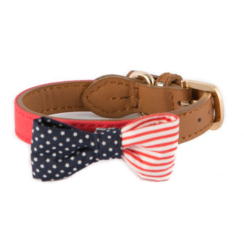 American Bow Tie Dog Collar
