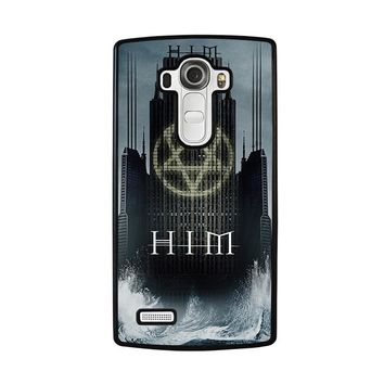 HIM BAND HEARTAGRAM LG G4 Case Cover