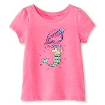 d4657b837 Toddler Girls' Mermaid Graphic Tee Pink 6X - Circo™ : Target