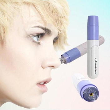 Beauty Care Electric Facial Pore Cleanser Brush Nose Pore Clean Blackhead Remover Acne Treatment Face Care Tool Device Free ship