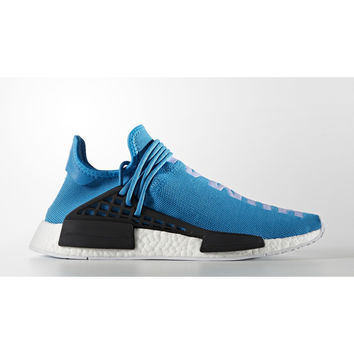 Adidas HU NMD x Pharrell Williams Shablu/Shablue/Ftwr White (Human Being) BB0618