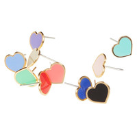 Heart Cartilage Earring, Cute Cartilage Earrings, Cartilage Stud Earring, Cartilage Earring Stud, Best Friend Earring, Best Friend Gift Idea