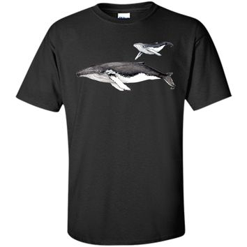 Cute Humpback Whales Megaptera Novaeangliae In The Arabian Sea 2017 T Shirt