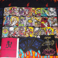 Dark Carnival Tarot Deck (with book and custom-painted velvet pouch)