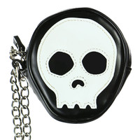 SKULL FACE COIN PURSE