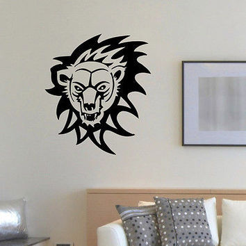 WALL DECAL VINYL STICKER PREDATOR ANIMAL BEAR WILD DECOR SB853