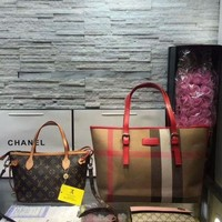 PEAPNT Year-End Promotion 3 Pcs Of Bags Combination (Burberry Bag ,LV Bag ,Gucci Wallet)