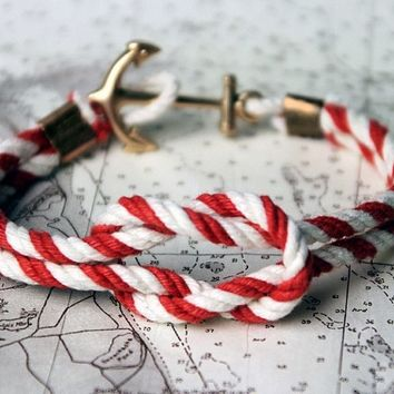 Winch Weather Bitt Triton Knot Bracelet by Kiel James Patrick