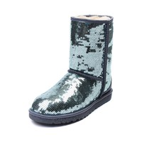 Womens UGG® Classic Short Sparkle Boot