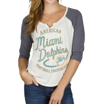 Miami Dolphins - Rookie Juniors Raglan