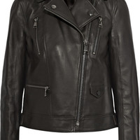 Karl Lagerfeld - Ikonik Odina leather biker jacket