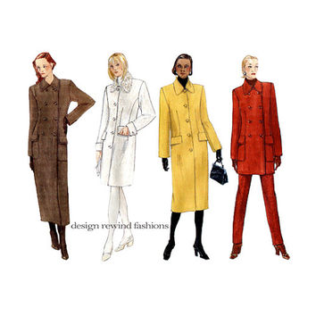 Shop Vogue Coat Sewing Patterns on Wanelo