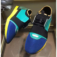 BALENCIAGA Fashion Breathable Running Sneakers Sport Shoes