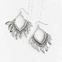 Metal Chime Drop Earring-