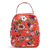 Vera Bradley Iconic Medium Cosmetic Coral Floral