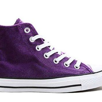 Converse Women's Chuck Taylor All Star Velvet Hi Top Sneaker
