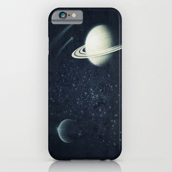 Deep Blue Space iPhone & iPod Case by DuckyB (Brandi)