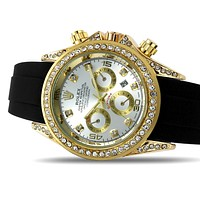 Rolex Men's and Women's Diamond Watches
