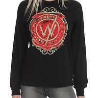 Sleeping With Sirens Free Girls Pullover Top
