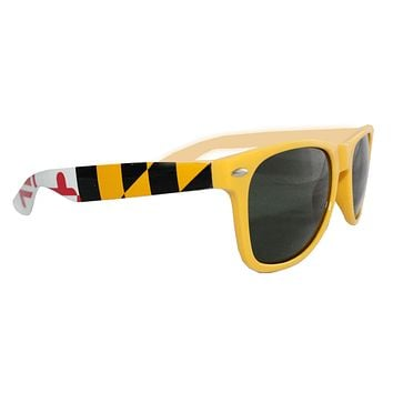 Yellow Maryland Flag / Shades