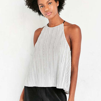 Ecote Josie Pleated Cami - Urban Outfitters