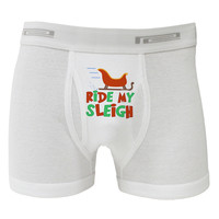 Ride My Sleigh Color Boxer Briefs