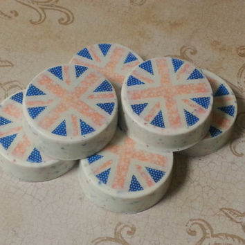 Union Jack Chocolate-Covered Oreos Edible Print Gift Party Favor Wedding Shower Birthday Special Occasion