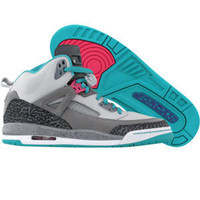 Jordan Spizike (neutral grey / vivid pink / cl grey / trb gr) Shoes 317321-063 | PickYourShoes.com