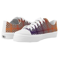 Abstract Squares 10 Low-Top Sneakers