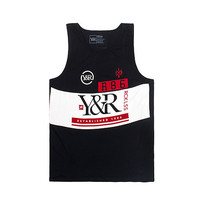 LE MANS TANK TOP - Black - YOUNG AND RECKLESS
