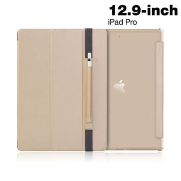 IPAD Pro 12.9-inch (2017) Protective case - Purecover Case WITH APPLE PENCIL POCKET