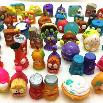 10Pcs/lot O for U Shop Original The Grossery Gang Mini Action Toys Figures Popular Kid's Playing Model Dolls Christmas Gift Toy