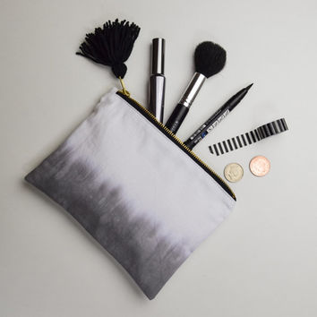 Dip dye makeup bag - pouch - pencil case - cosmetic bag