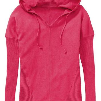Athleta Womens Metta Hoodie Sweater Size S - Sprint red heather
