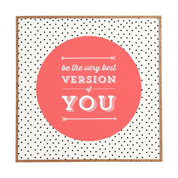 Allyson Johnson Be The Best Version Of You Framed Wall Art