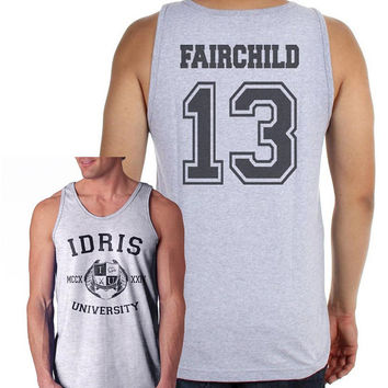 Fairchild 13 Idris University Sport Grey Men Tank top